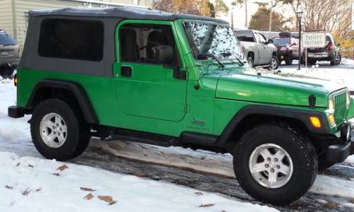 2005 green jeep wrangler unlimited for sale in jamestown new york. Black Bedroom Furniture Sets. Home Design Ideas