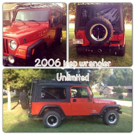 2006 Jeep Wrangler Unlimited For Sale In Corning
