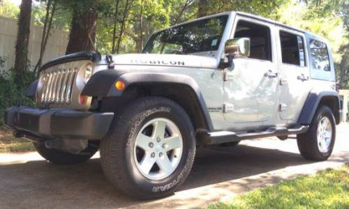 2007 jeep wrangler unlimited rubicon for sale in columbus mississippi. Black Bedroom Furniture Sets. Home Design Ideas