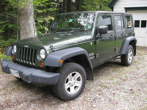 2009 Right Hand Drive Jeep Wrangler Unlimited For Sale