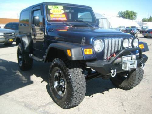2004 jeep wrangler unlimited 4 speed auto for sale in. Black Bedroom Furniture Sets. Home Design Ideas