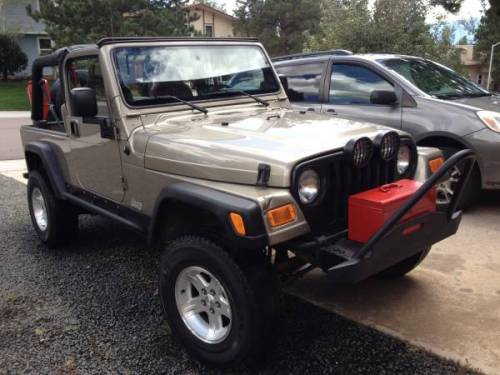 2005 jeep wrangler unlimited lj auto for sale in colorado. Black Bedroom Furniture Sets. Home Design Ideas