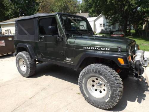 2006 wrangler unlimited rubicon for sale in creston des moines iowa. Black Bedroom Furniture Sets. Home Design Ideas
