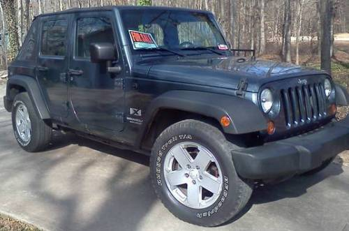 2007 Jeep Wrangler Unlimited X For Sale in Canon/Hartwell ...