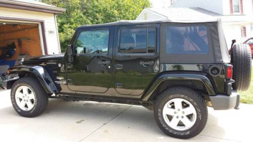 2009 jeep wrangler unlimited sahara for sale in ft wayne indiana. Black Bedroom Furniture Sets. Home Design Ideas