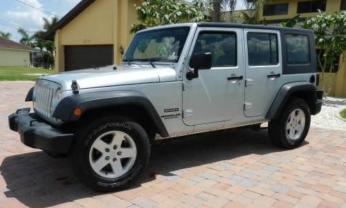 2010 Jeep Wrangler Unlimited Sport For Sale in Cape Coral ...