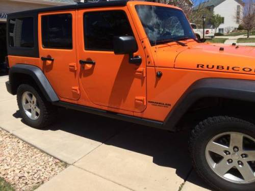 2012 jeep wrangler unlimited rubicon for sale in ne colorado springs. Black Bedroom Furniture Sets. Home Design Ideas