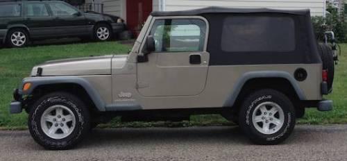 2004 jeep wrangler unlimited lj for sale in easton pennsylvania. Black Bedroom Furniture Sets. Home Design Ideas
