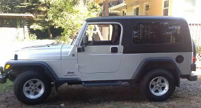 2004 jeep wrangler unlimited lj for sale in snohomish washington. Black Bedroom Furniture Sets. Home Design Ideas