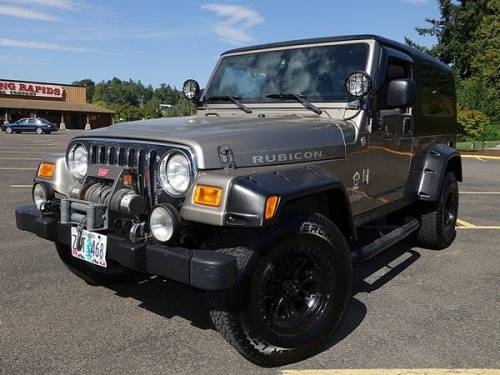 2005 jeep wrangler unlimited lj rubicon for sale in salem. Black Bedroom Furniture Sets. Home Design Ideas