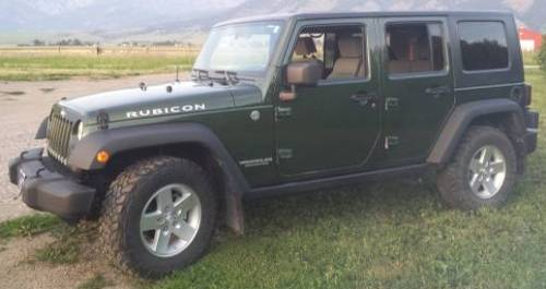 2008 jeep wrangler unlimited rubicon for sale in belgrade montana. Black Bedroom Furniture Sets. Home Design Ideas