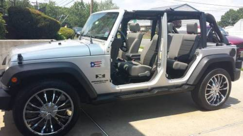 2008 jeep wrangler unlimited x 6 speed for sale in central new jersey. Black Bedroom Furniture Sets. Home Design Ideas