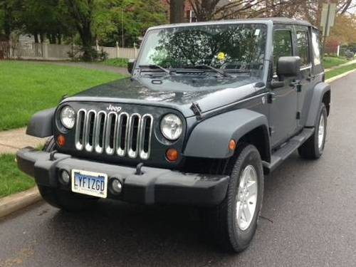 2008 jeep wrangler unlimited x for sale in hagerstown maryland. Black Bedroom Furniture Sets. Home Design Ideas