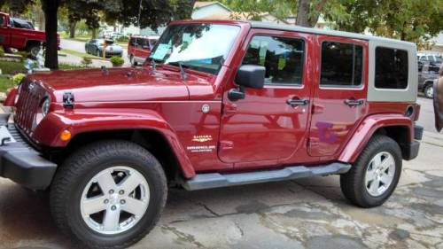 2008 jeep wrangler unlimited sahara for sale in sioux for Wheel city motors sioux falls sd