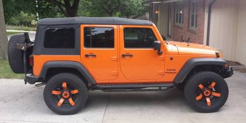 2012 Jeep Wrangler Unlimited Sport For Sale in Gladstone ...