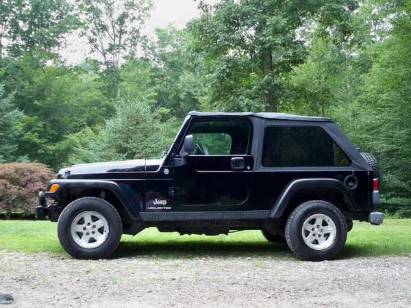 2004 jeep wrangler for sale in south windsor ct. Black Bedroom Furniture Sets. Home Design Ideas
