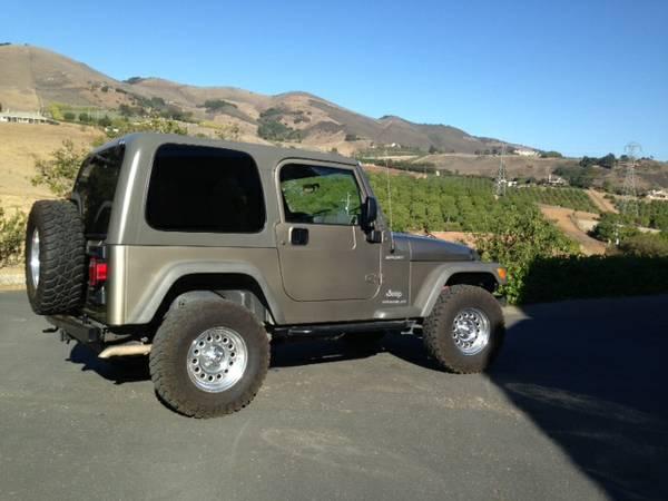 2005 jeep wrangler for sale in arroyo grande california. Black Bedroom Furniture Sets. Home Design Ideas