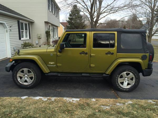 2008 jeep wrangler sahara for sale in cheshire ct. Black Bedroom Furniture Sets. Home Design Ideas