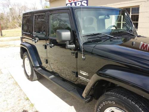 2011 jeep wrangler unlimited sahara for sale in opelika alabama. Black Bedroom Furniture Sets. Home Design Ideas