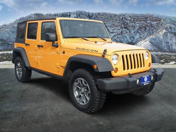 2013 jeep wrangler rubicon for sale in glenwood springs co. Black Bedroom Furniture Sets. Home Design Ideas
