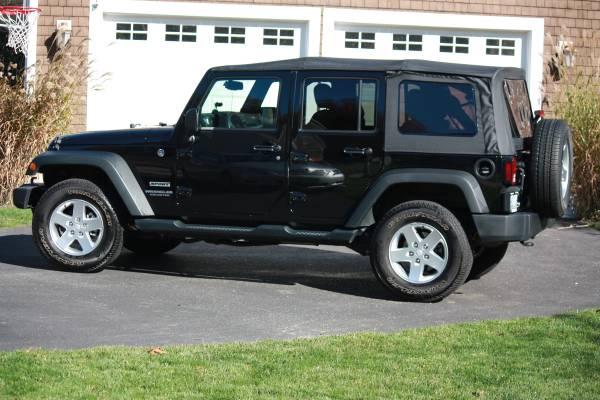 2014 jeep wrangler sport for sale in hartford ct. Black Bedroom Furniture Sets. Home Design Ideas