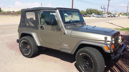 2005 jeep wrangler unlimited for sale in tucson arizona. Black Bedroom Furniture Sets. Home Design Ideas