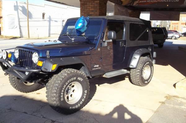 2004 jeep wrangler for sale in mansfield al. Black Bedroom Furniture Sets. Home Design Ideas