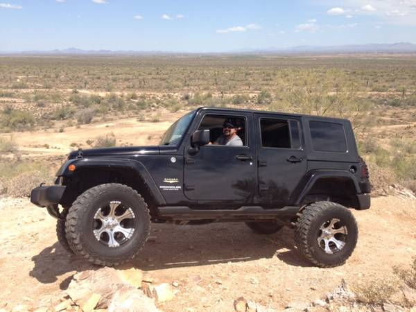 2007 jeep wrangler unlimited sahara for sale in phoenix az. Black Bedroom Furniture Sets. Home Design Ideas