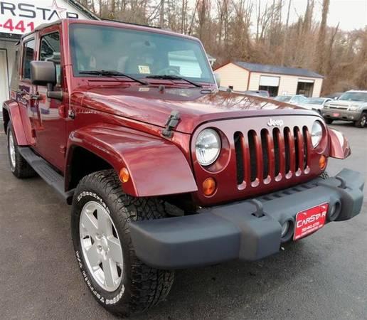 2007 jeep wrangler unlimited sahara for sale in washington dc. Black Bedroom Furniture Sets. Home Design Ideas