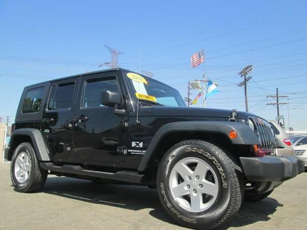 2008 jeep wrangler unlimited x for sale in los angeles ca. Black Bedroom Furniture Sets. Home Design Ideas