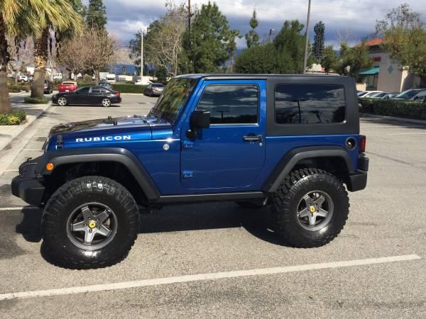 2009 Jeep Wrangler Rubicon For Sale In Inland Empire Ca