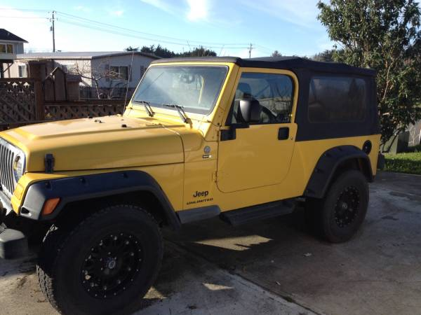 2004 jeep wrangler unlimited for sale in bandon or. Black Bedroom Furniture Sets. Home Design Ideas