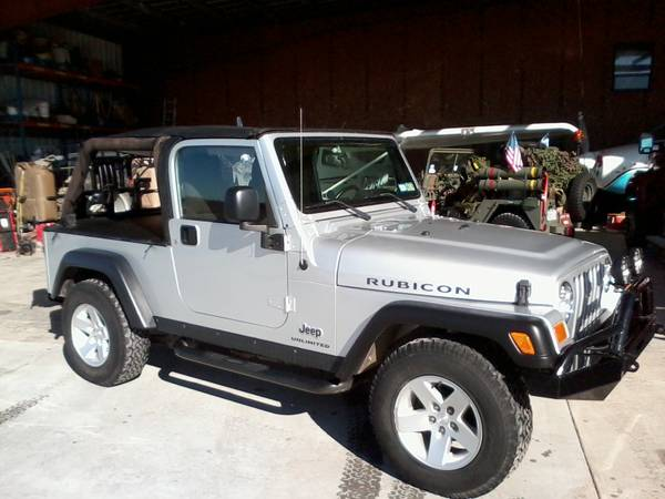 2005 jeep wrangler unlimited rubicon for sale in san. Black Bedroom Furniture Sets. Home Design Ideas
