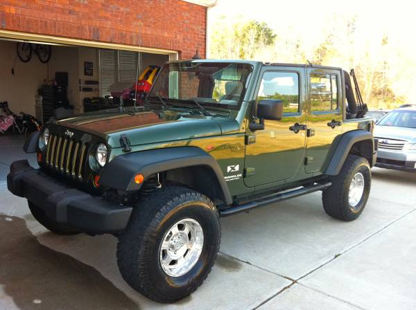 2007 jeep wrangler unlimited x for sale in locust grove ga. Black Bedroom Furniture Sets. Home Design Ideas