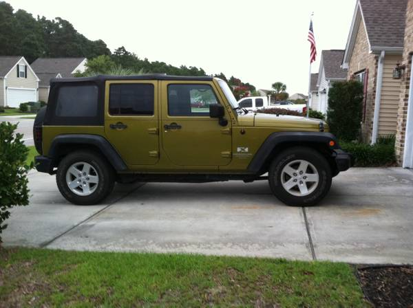 2008 jeep wrangler unlimited x for sale in arden nc. Black Bedroom Furniture Sets. Home Design Ideas