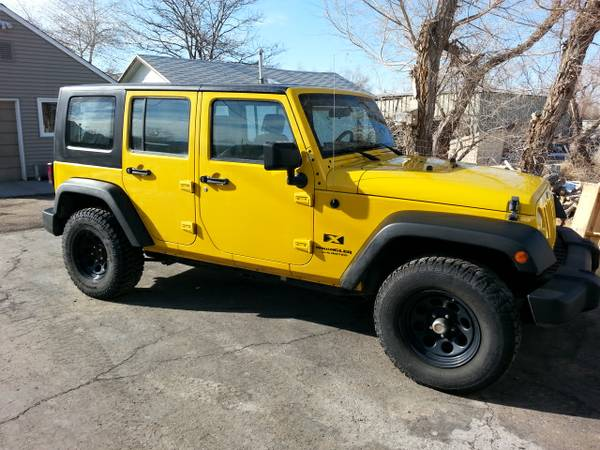 2008 jeep wrangler unlimited x for sale in casper wy. Black Bedroom Furniture Sets. Home Design Ideas