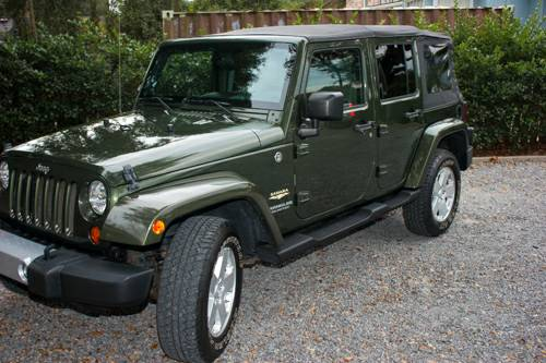 2008 jeep wrangler unlimited sahara for sale in mt pleasant sc. Black Bedroom Furniture Sets. Home Design Ideas
