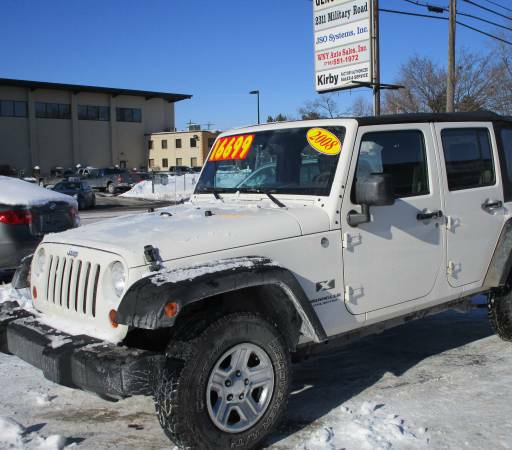 2008 jeep wrangler unlimited x for sale in tonawanda ny. Black Bedroom Furniture Sets. Home Design Ideas