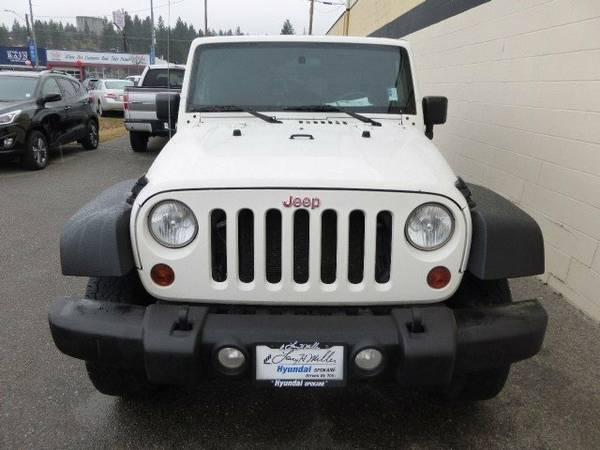 Larry H Miller Jeep >> 2010 Jeep Wrangler Unlimited Sport For Sale in Spokane WA