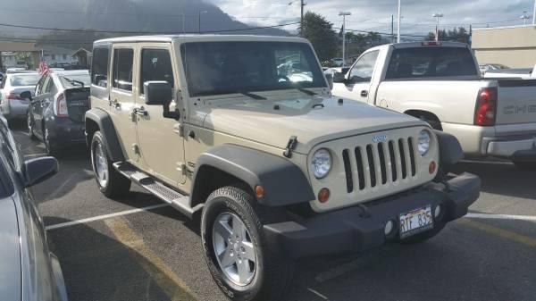 2011 jeep wrangler unlimited sport for sale in kaneohe hi. Black Bedroom Furniture Sets. Home Design Ideas