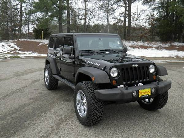 2013 jeep wrangler unlimited rubicon for sale in longview tx. Black Bedroom Furniture Sets. Home Design Ideas