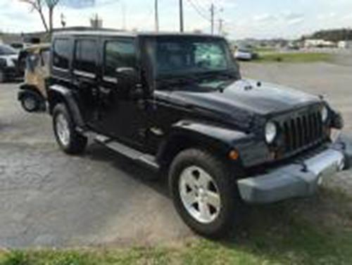 2008 jeep wrangler unlimited sahara for sale in boaz al. Black Bedroom Furniture Sets. Home Design Ideas