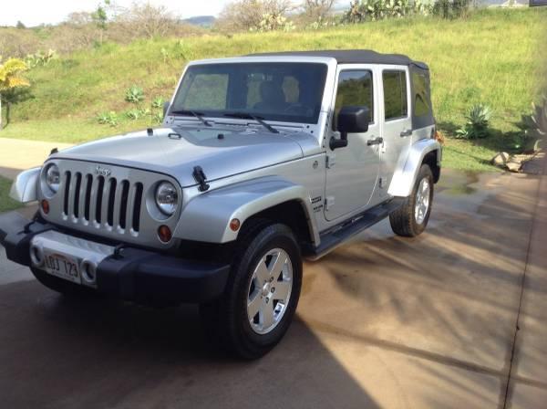 2012 jeep wrangler unlimited sport for sale in kula hi. Black Bedroom Furniture Sets. Home Design Ideas