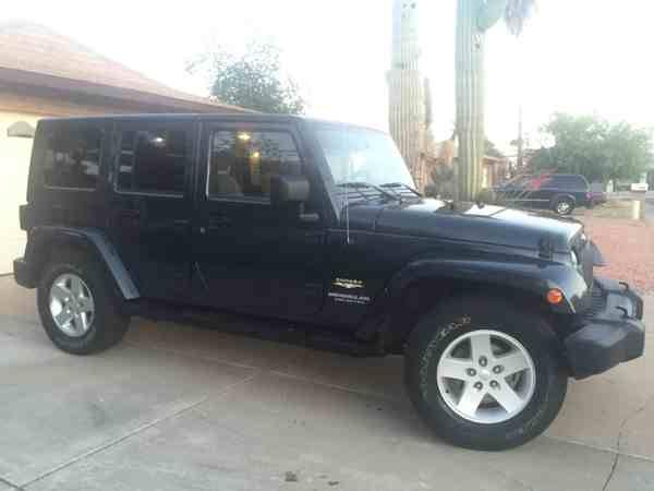 2007 jeep wrangler unlimited sahara for sale in glendale az. Black Bedroom Furniture Sets. Home Design Ideas