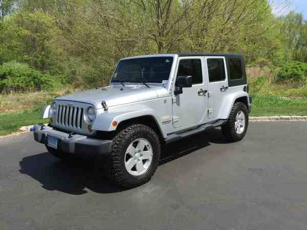 2007 Jeep Wrangler Unlimited Sahara For Sale in Shelton CT
