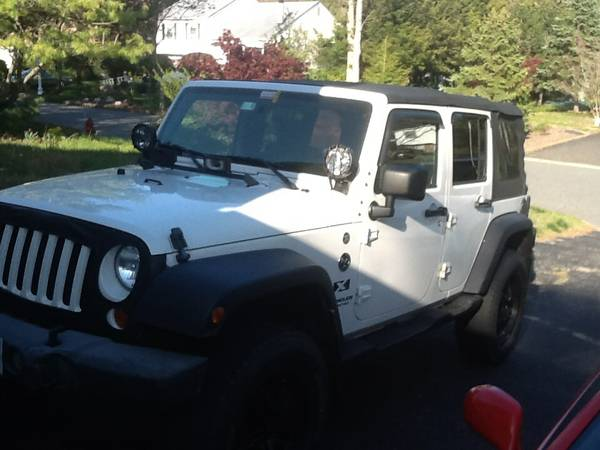 2007 jeep wrangler unlimited x for sale in south jersey nj. Black Bedroom Furniture Sets. Home Design Ideas