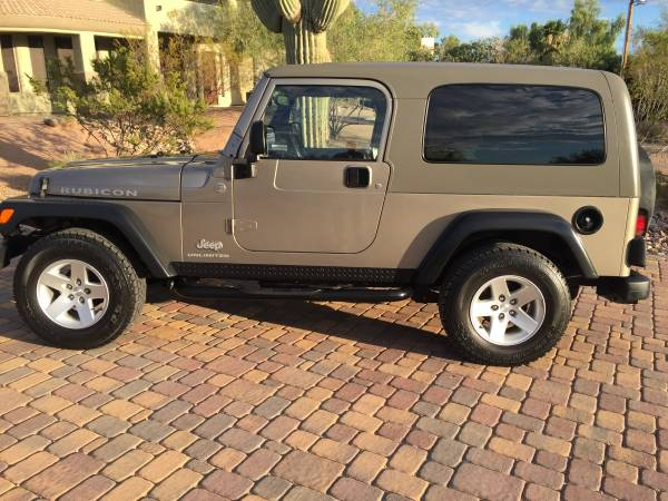 2005 jeep wrangler unlimited rubicon for sale in tucson arizona. Black Bedroom Furniture Sets. Home Design Ideas