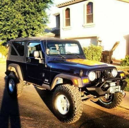 2006 jeep wrangler unlimited for sale in tucson arizona. Black Bedroom Furniture Sets. Home Design Ideas