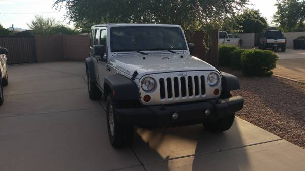 2008 jeep wrangler unlimited rubicon for sale in mesa arizona. Black Bedroom Furniture Sets. Home Design Ideas