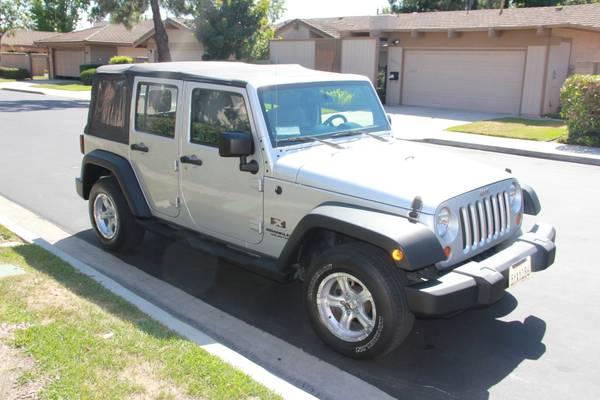 2007 jeep wrangler unlimited x for sale in orange county california. Black Bedroom Furniture Sets. Home Design Ideas